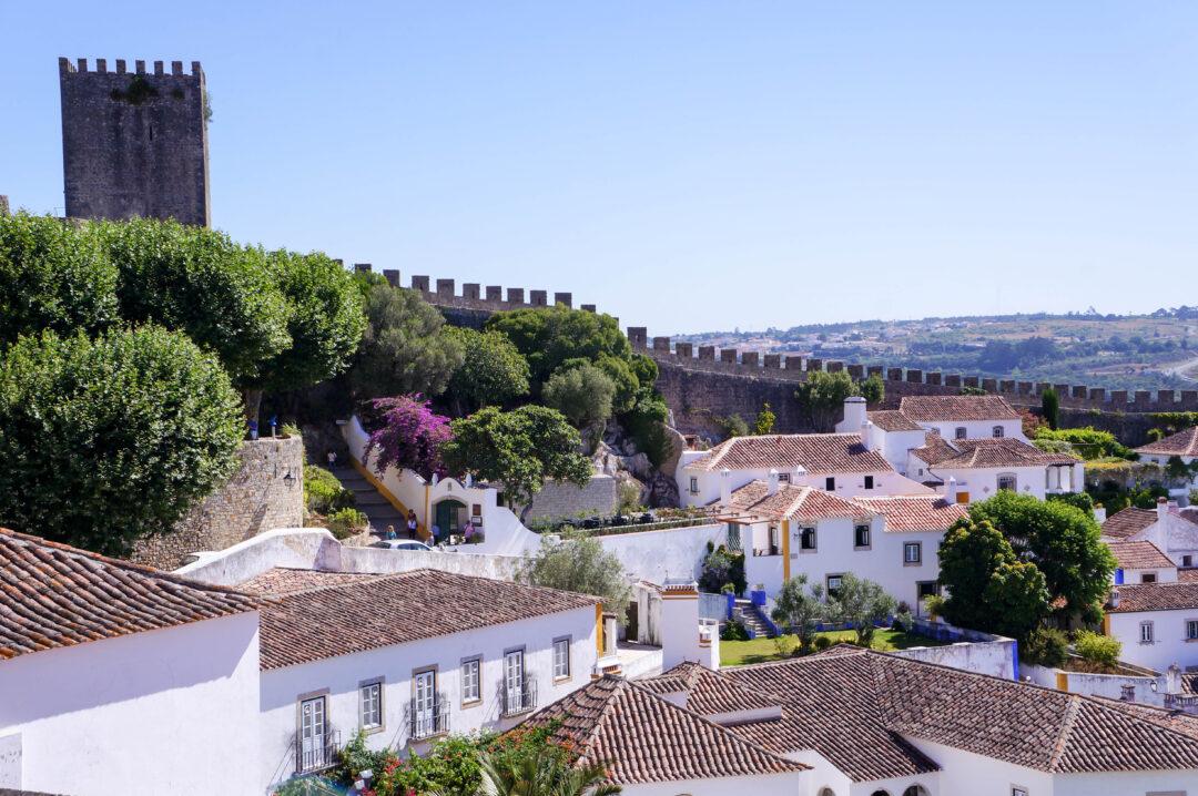 mura e castello di Obidos