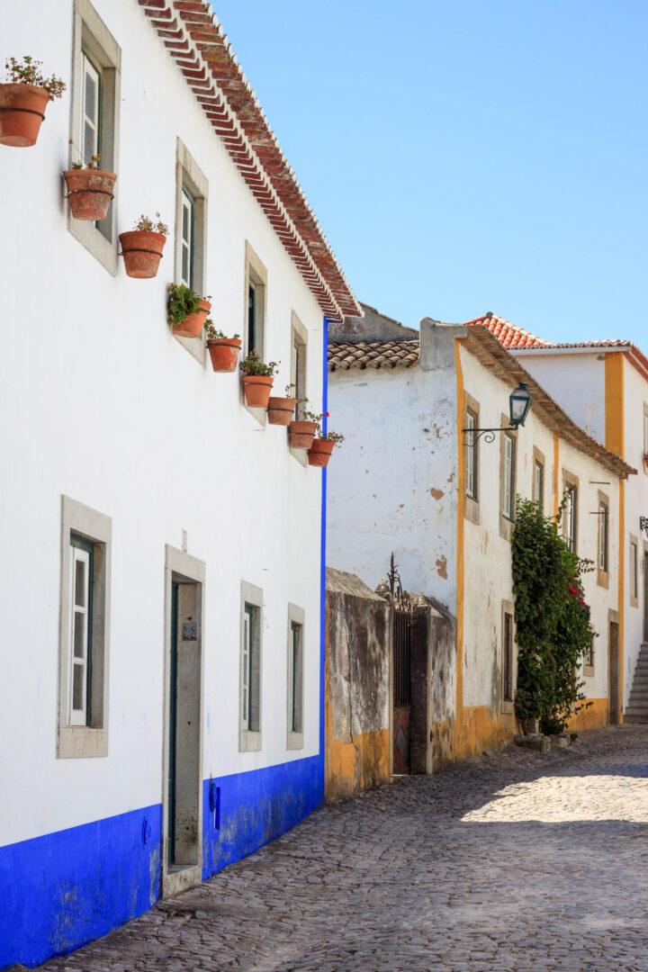 vicoli di Óbidos