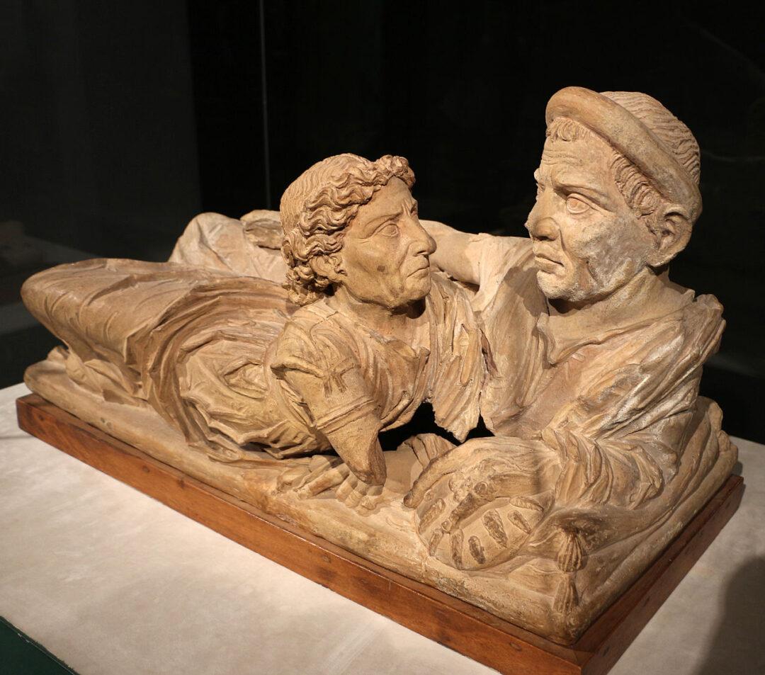 sarcofago etrusco degli sposi