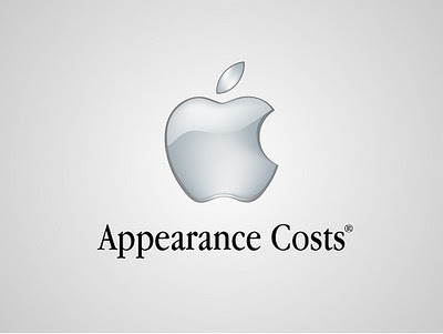 "Apple - L'apparenza costa (fantastica la serie completa di mele morsicate ""Think Different"")"