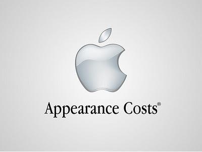 """Apple - L'apparenza costa (fantastica la serie completa di mele morsicate """"Think Different"""")"""