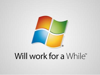 """Windows - """"Può funzionare per un po'"""""""