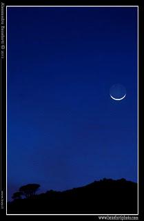La faccia della luna [Foto di Alessandro Beneforti]