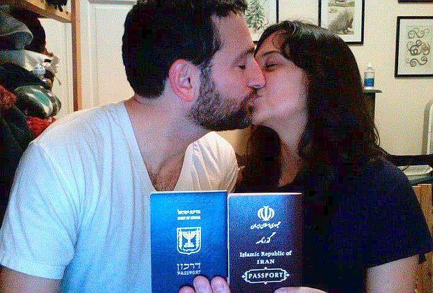 Bacio Israele Iran