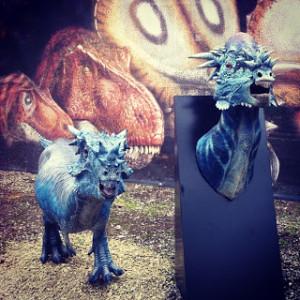 Dinosauri al museo