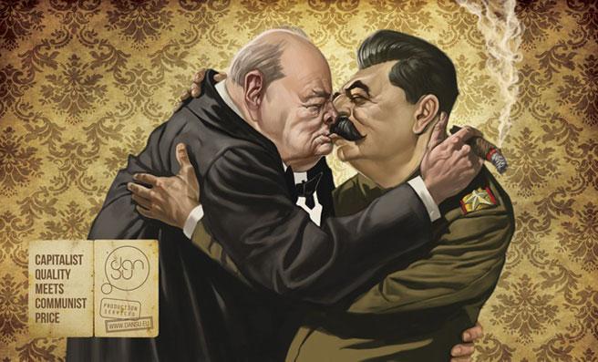 """""""Capitalist quality meets comunist prize"""""""