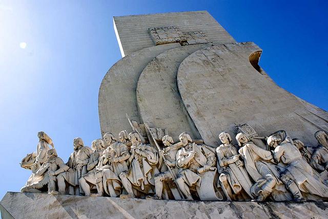 Il Monumento delle Scoperte o Padrão dos descubrimentos [Foto di Rodrigo Encinas]