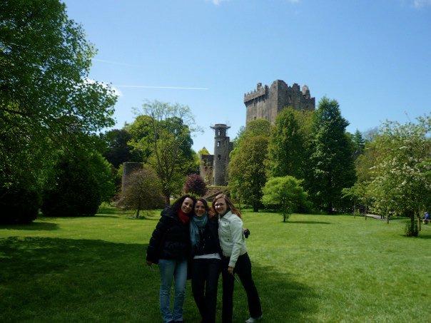 Nel parco del Blarney Castle