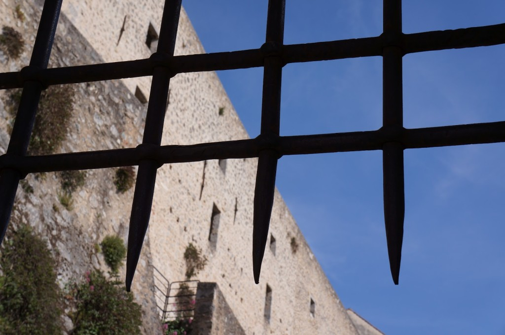 Il Castello Malaspina di Massa - dettaglio
