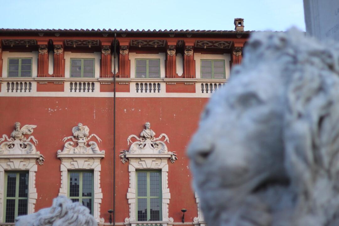 Palazzo Ducale Massa, dettaglio