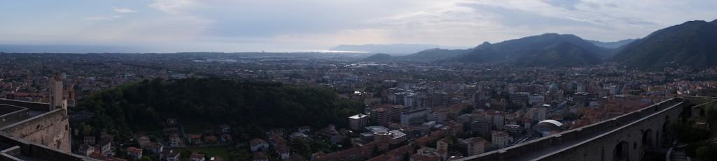 Veduta panoramica dal Castello Malaspina