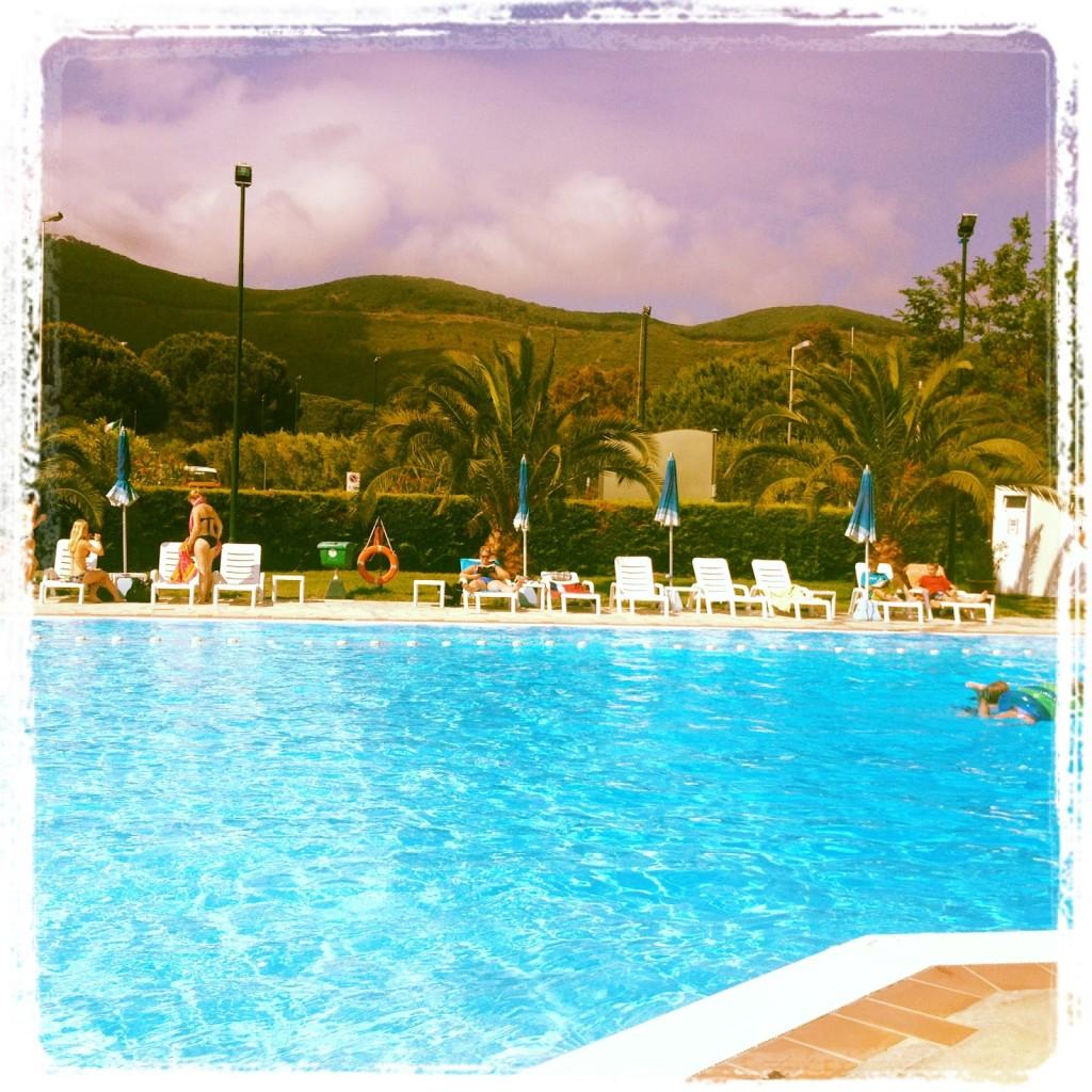 La piscina del Camping Lacona