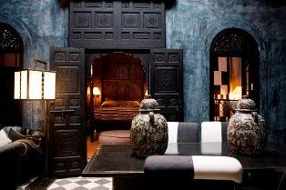 Una delle camere del Riad Dar Darma