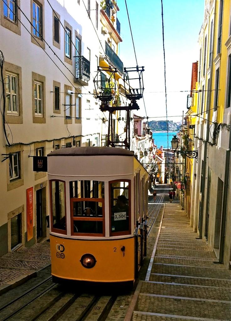 Elevador da Bica - Lisbona