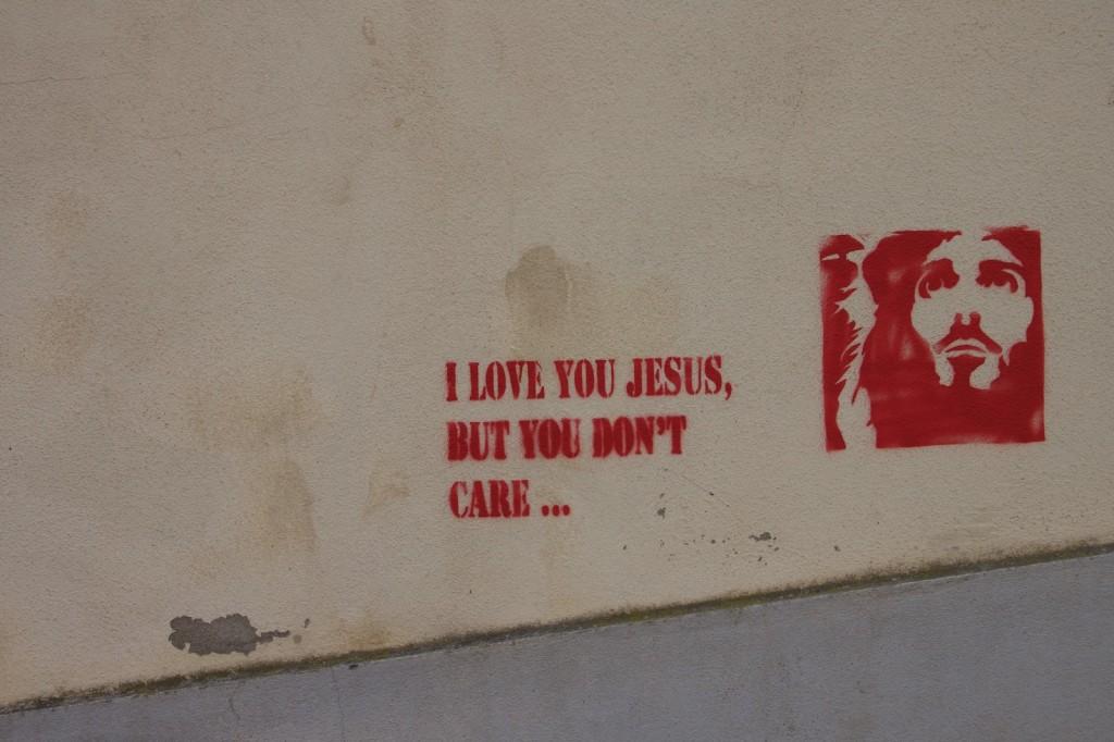 Gesù io ti voglio bene ma a te non importa...