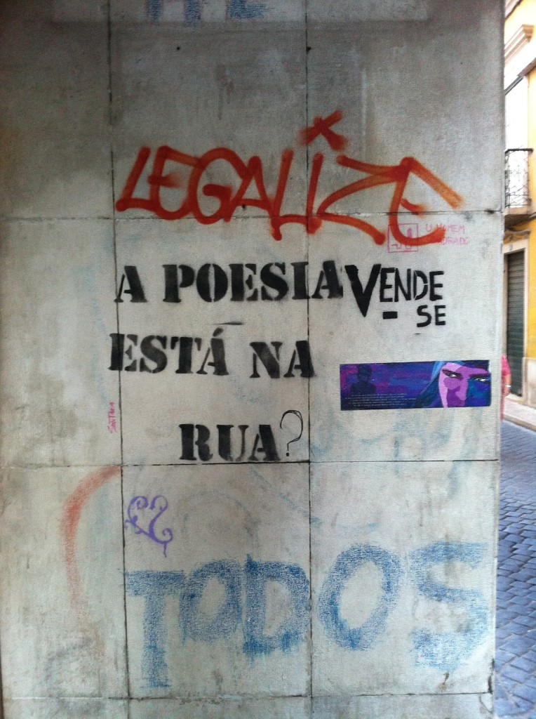La poesia è nella strada (punto interrogativo postumo e Vendesi accavallato!)