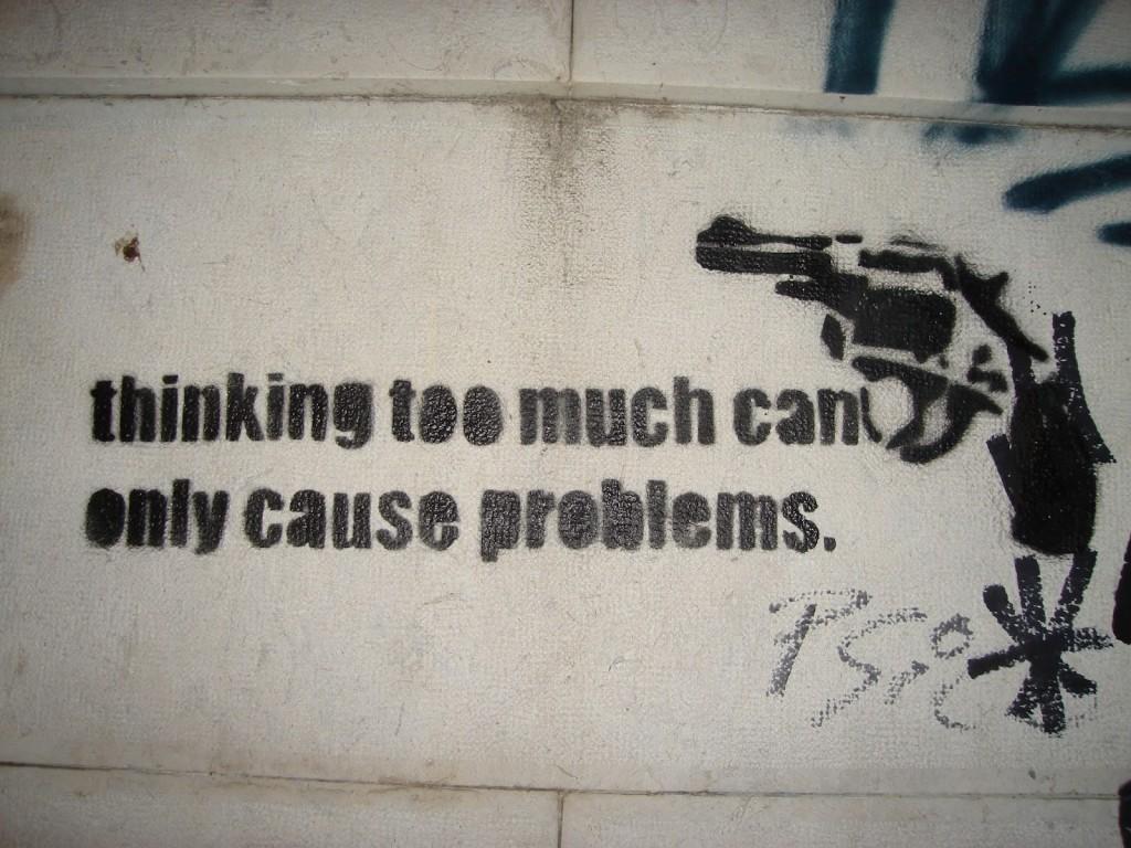 Pensare troppo può causare problemi