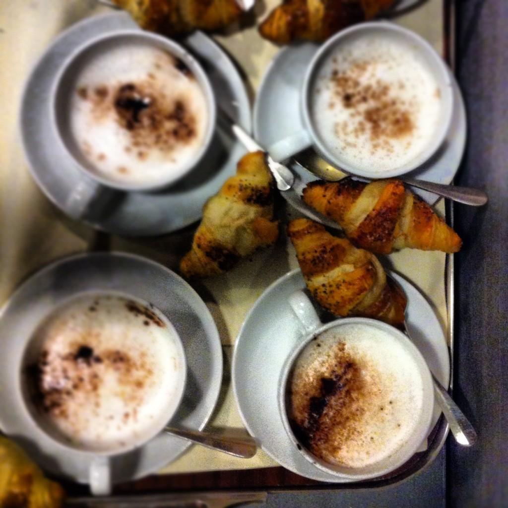 I cappuccini ai funghi!