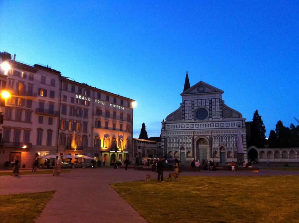 Il Grand Hotel Minerva in piazza Santa Maria Novella a Firenze