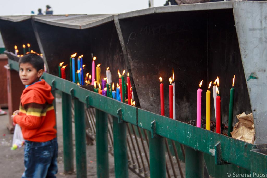 Religiosità sul colle San Cristóbal