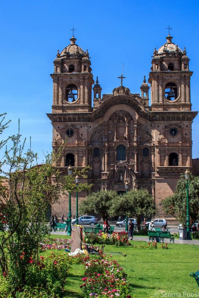 Cusco, dettaglio di Plaza de Armas