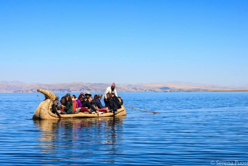 Navigazione sul lago TIticaca