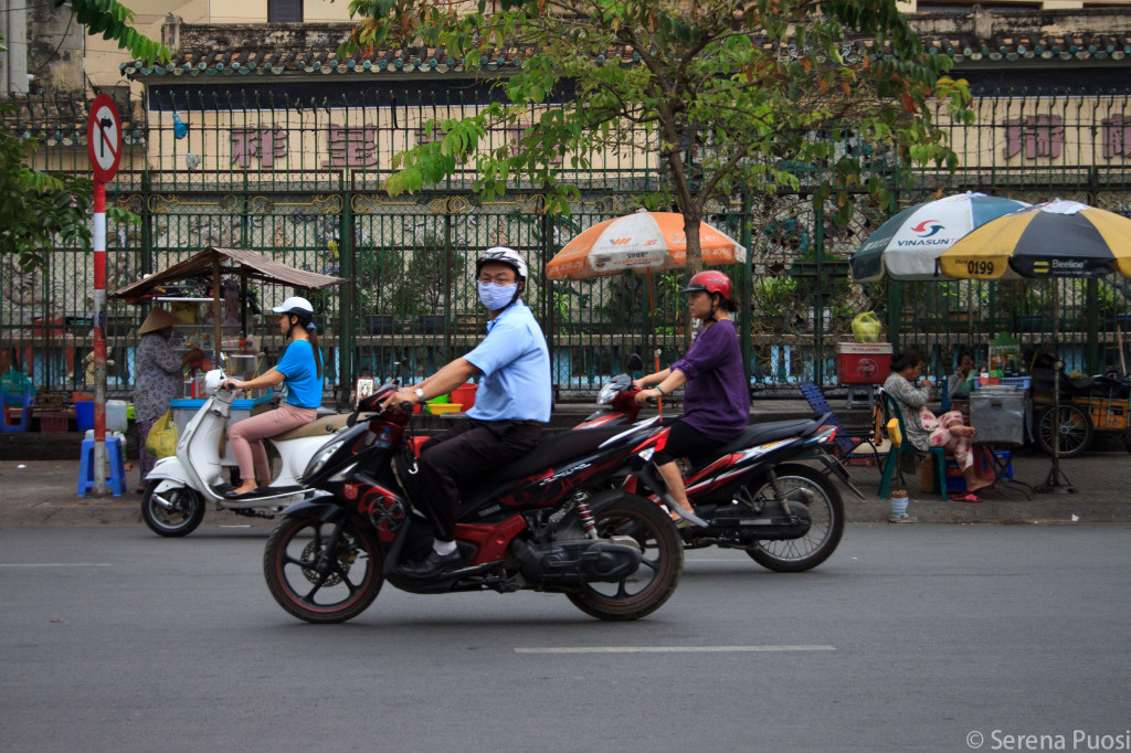 Motorini a Saigon