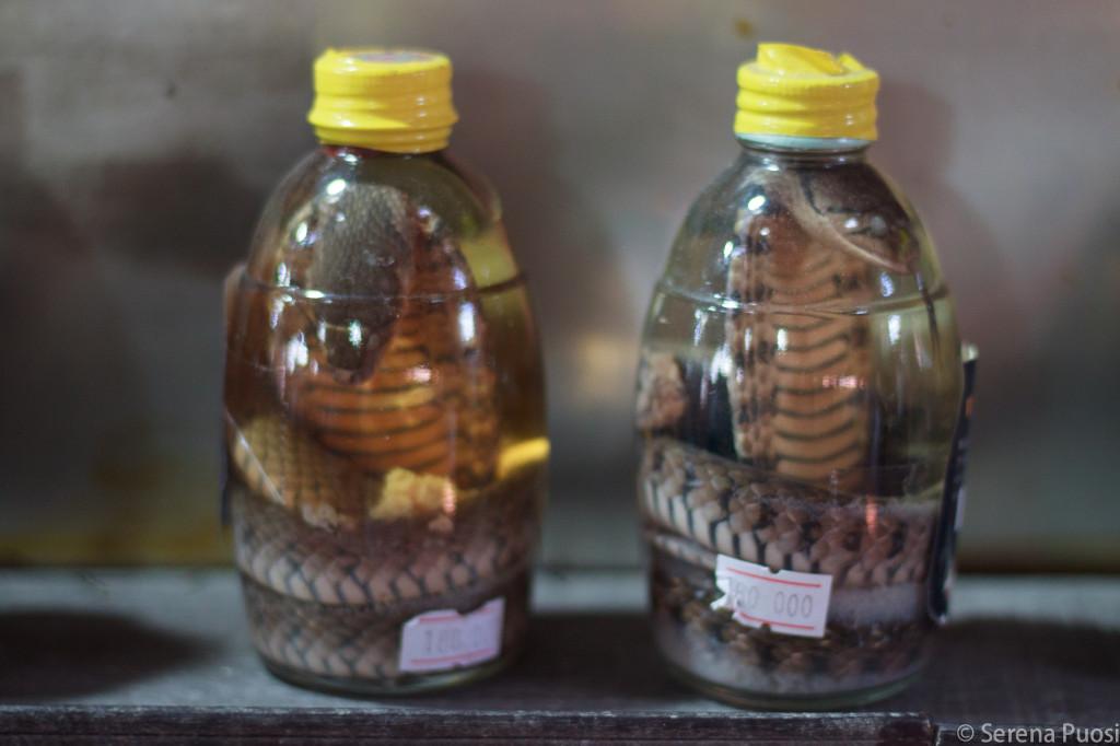 Il temibile liquore di serpente