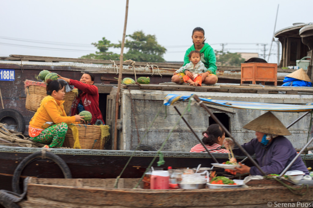 Mercato galleggiante di Cần Thơ