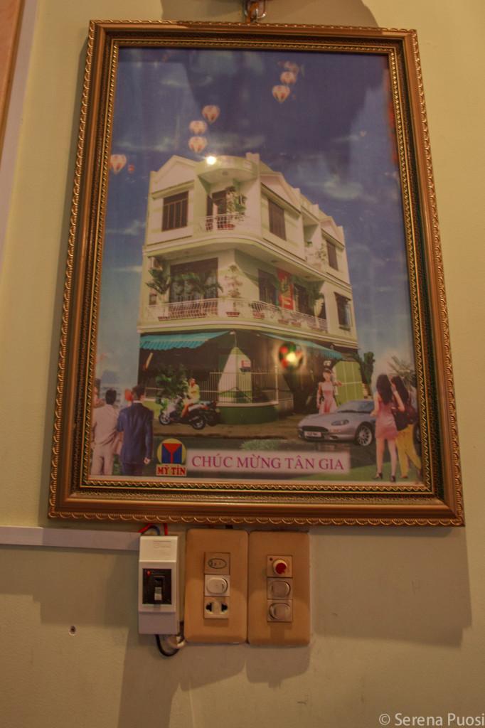 La casa photoshoppata