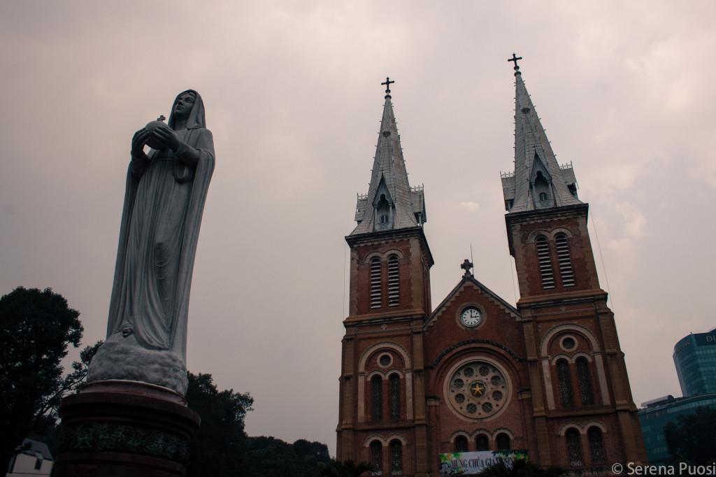 La Cattedrale di Notre Dame a HCMC