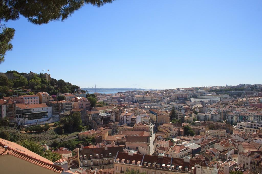 Miradouro de Graça Lisbona
