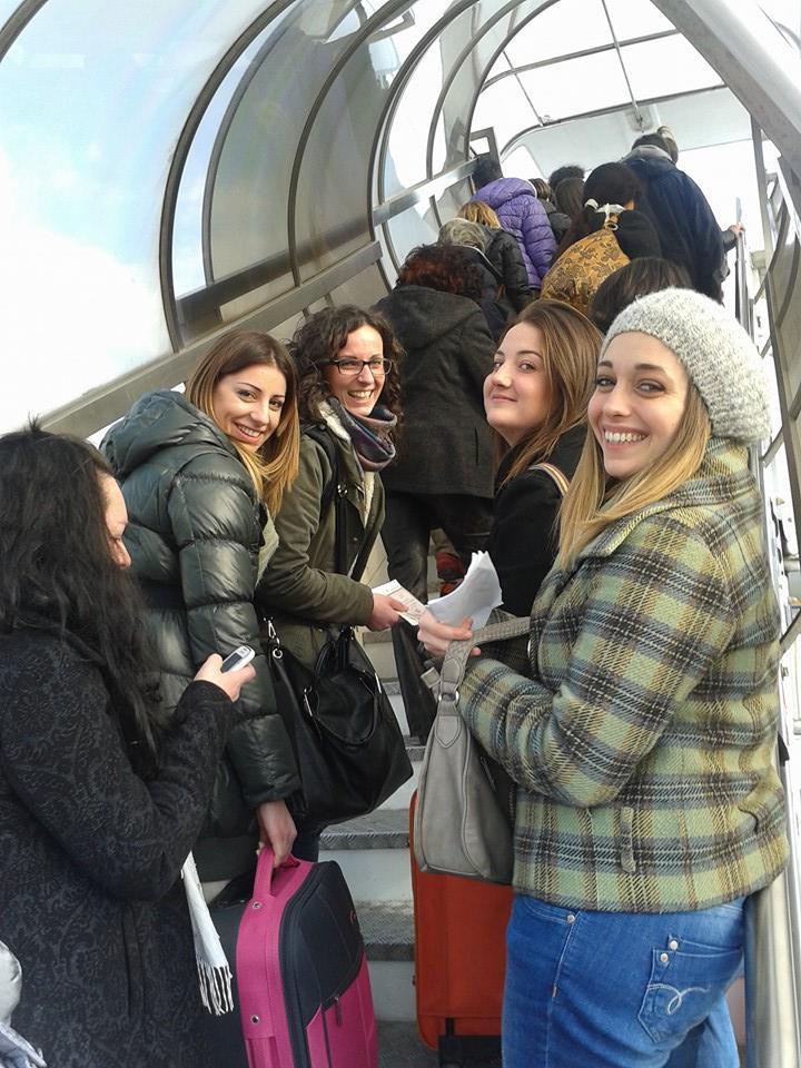 In partenza con la Vueling per il volo Pisa - Barcellona