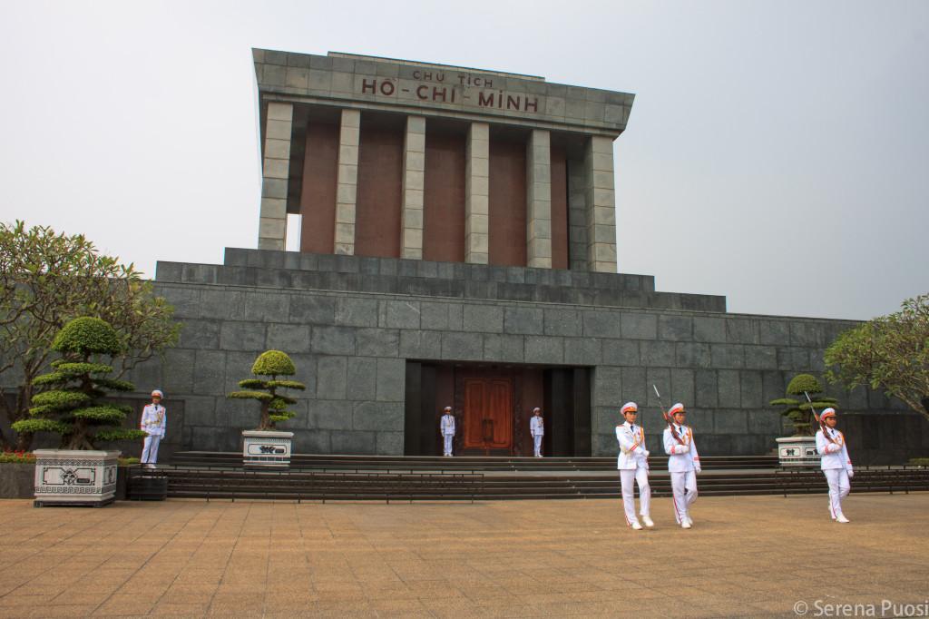 Ill Mausoleo di Ho Chi Minh