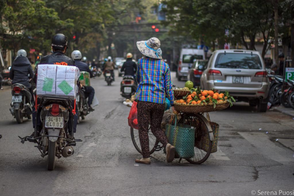 Per le strade di Hanoi