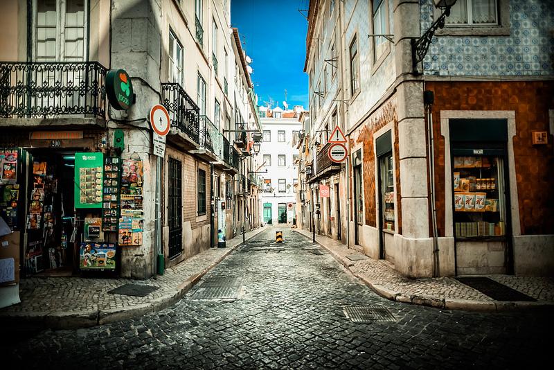Bairro Alto Lisbona