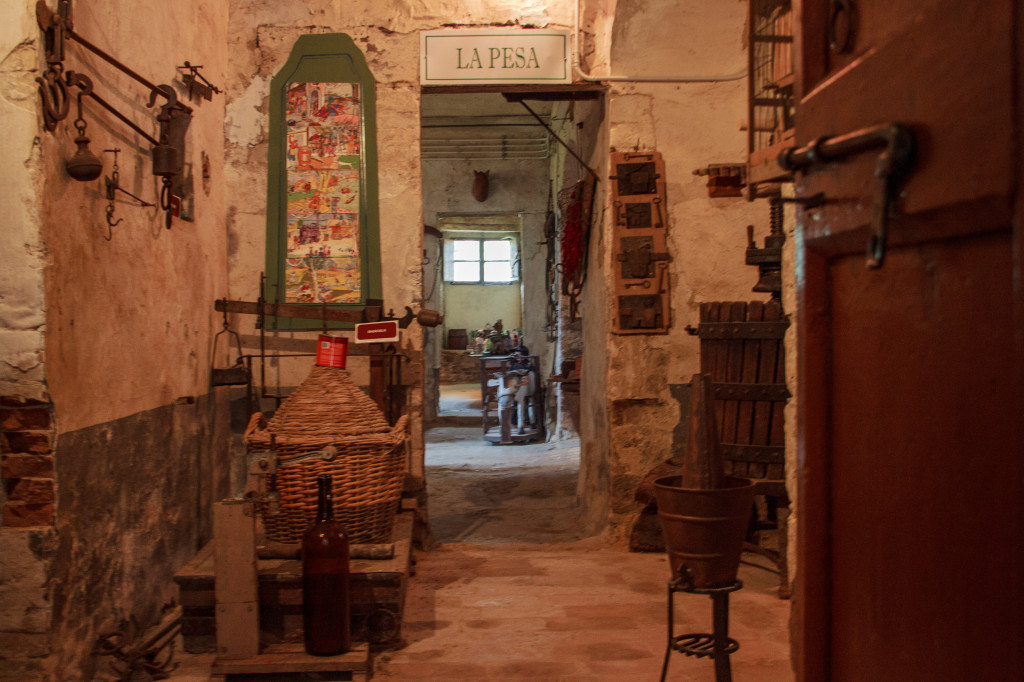 Museo della cultura contadina dentro la pieve