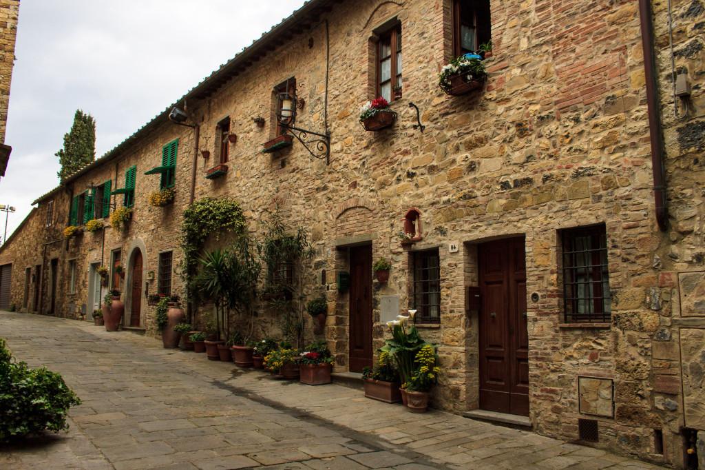 il paese di San Donato in Poggio