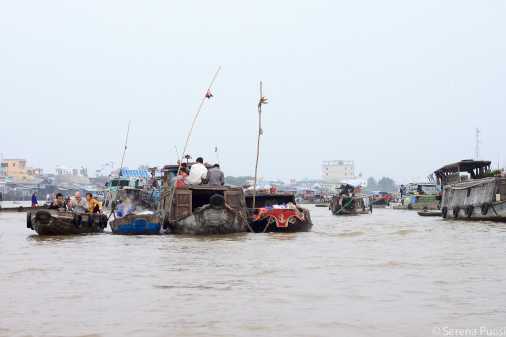 Il mercato galleggiante di Cai Rang