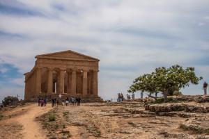 La Valle dei TemplI - Tempio della Concordia