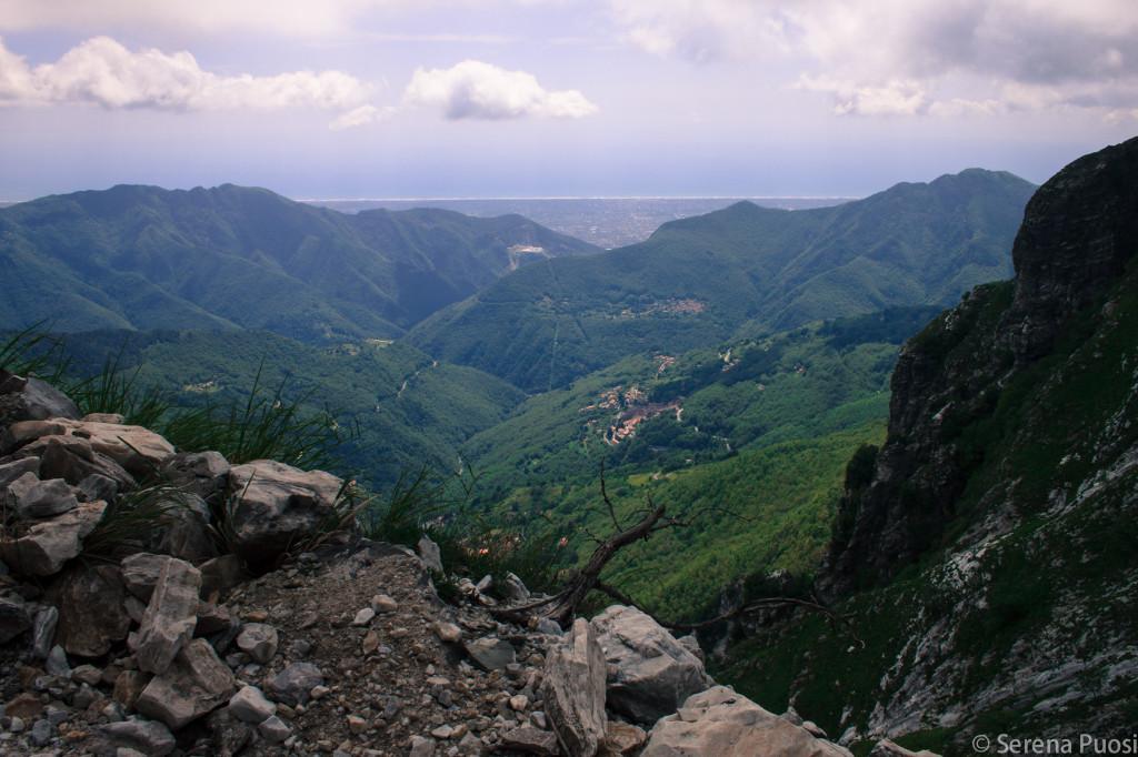 La Versilia vista da sopra Levigliani