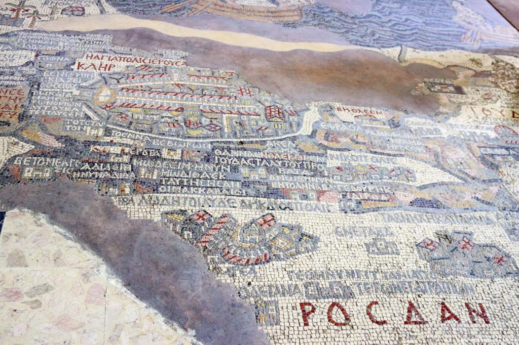 Il mosaico di Madaba