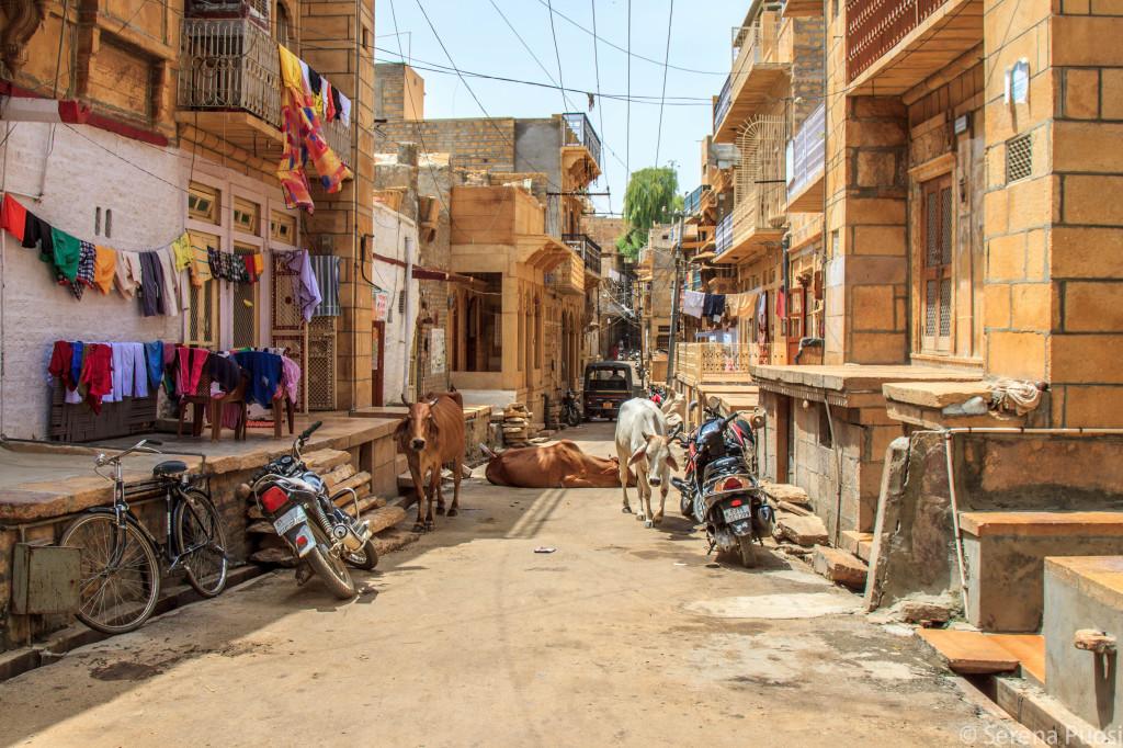 strada di Jaisalmer