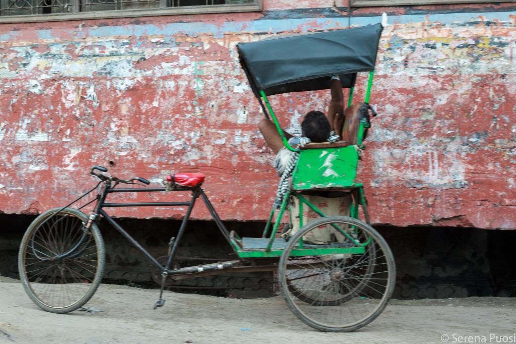 Un risciò a pedali