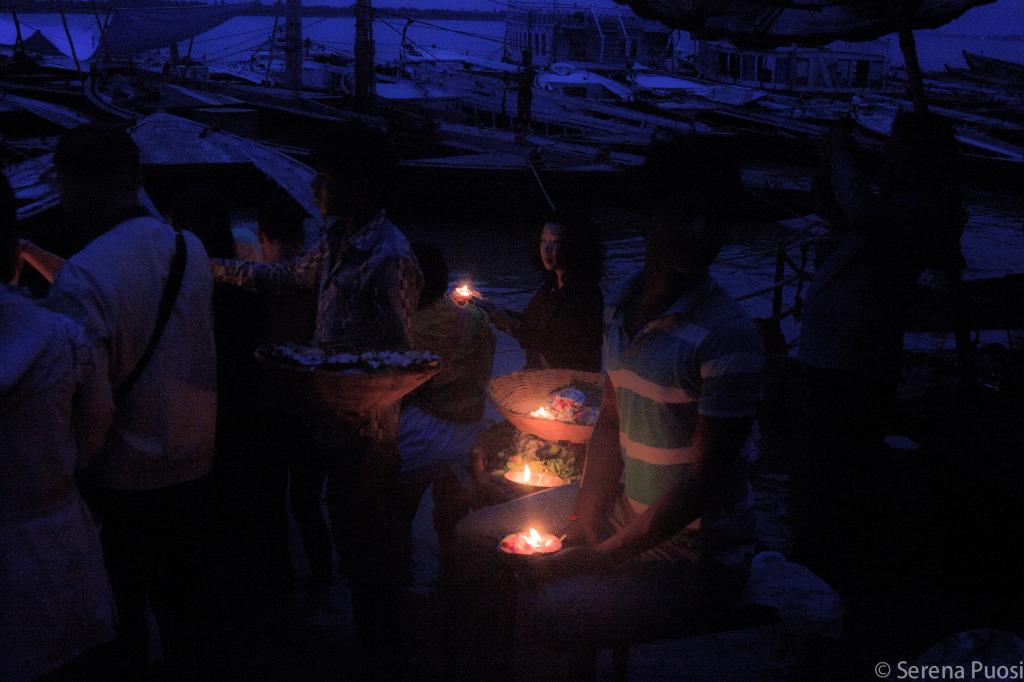 Il Gange poco prima dell'alba