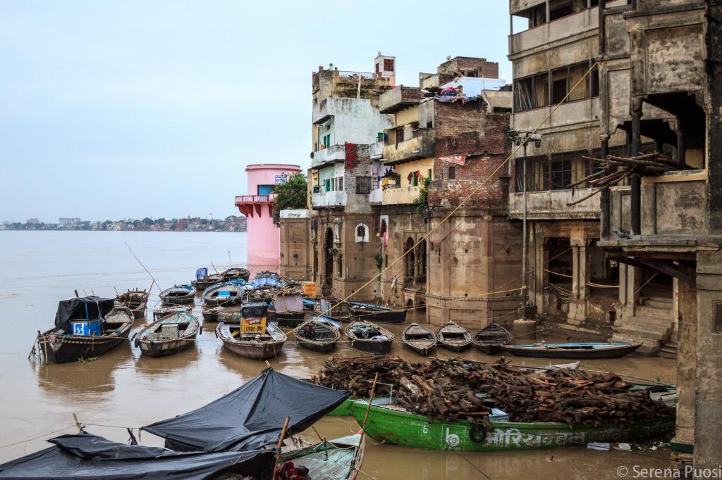Il Gange in piena