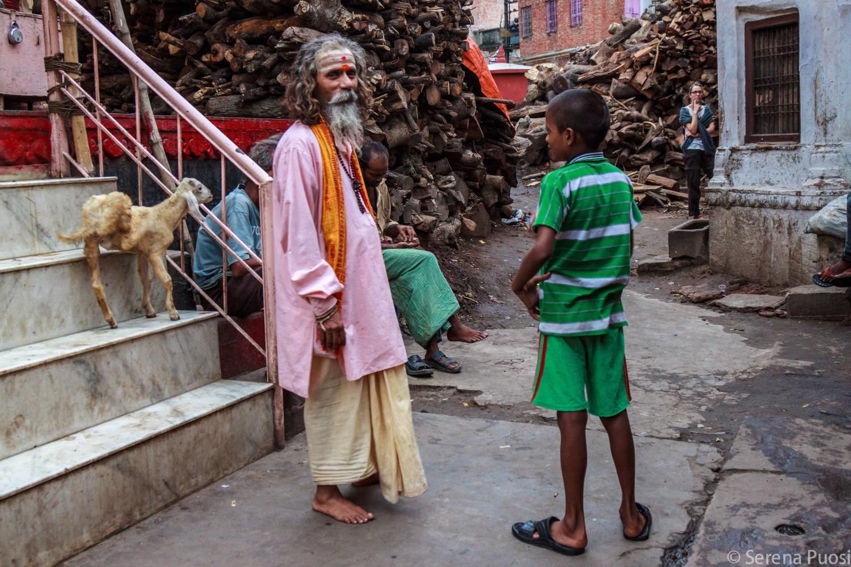 Santone a Varanasi