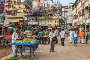 Mercato a Varanasi