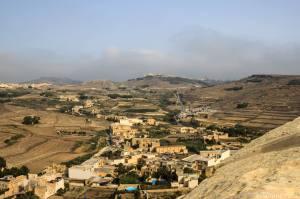 La campagna di Gozo nei dintorni di St. Lowrenz