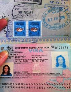 Visto per l'India